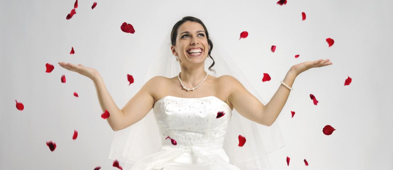 Décoration mariage - canon confetti pétale de rose rouge