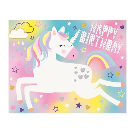 optez le jeu licorne pour son anniversaire