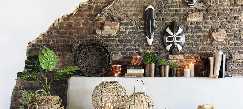 décoration inspiration ethnic africain