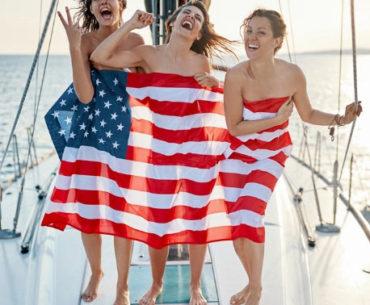 american-party-drapeau-usa