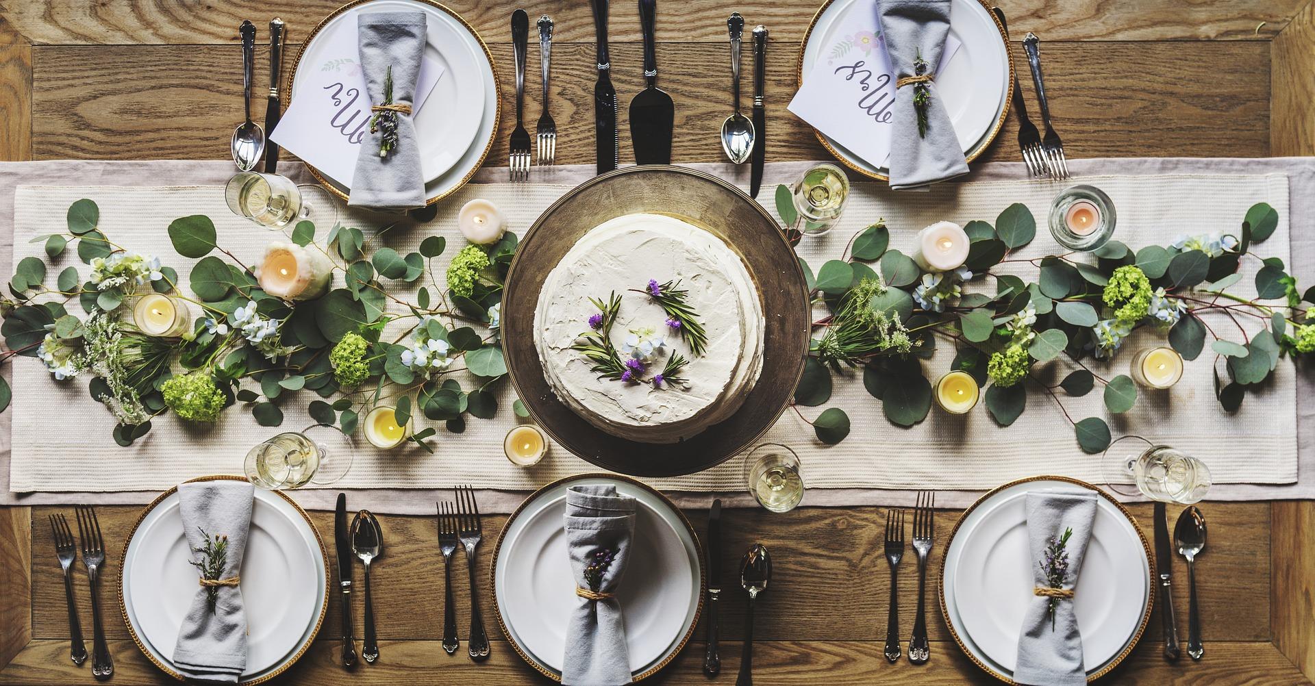 Art de table -inspiration nature esprit bohème pour décoration de table
