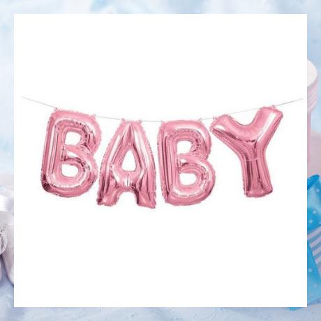 Ballon gonflable, décoration gonflabe pour baby shower naissance
