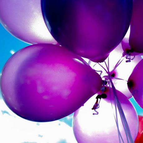 Des ballons hélium pour la décoration de l'anniversaire de votre enfant