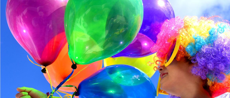 ballon gonflable à l'helium pour une fête d'anniversaire réussi