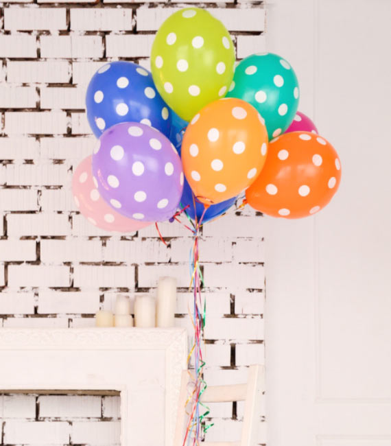 ballon helium pour anniversaire