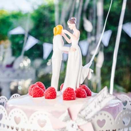 La fameuse figurine Mariés pour la pièce montée de votre mariage