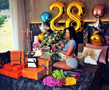 Anniversaire 28 ans ballon hélium témoignage cliente