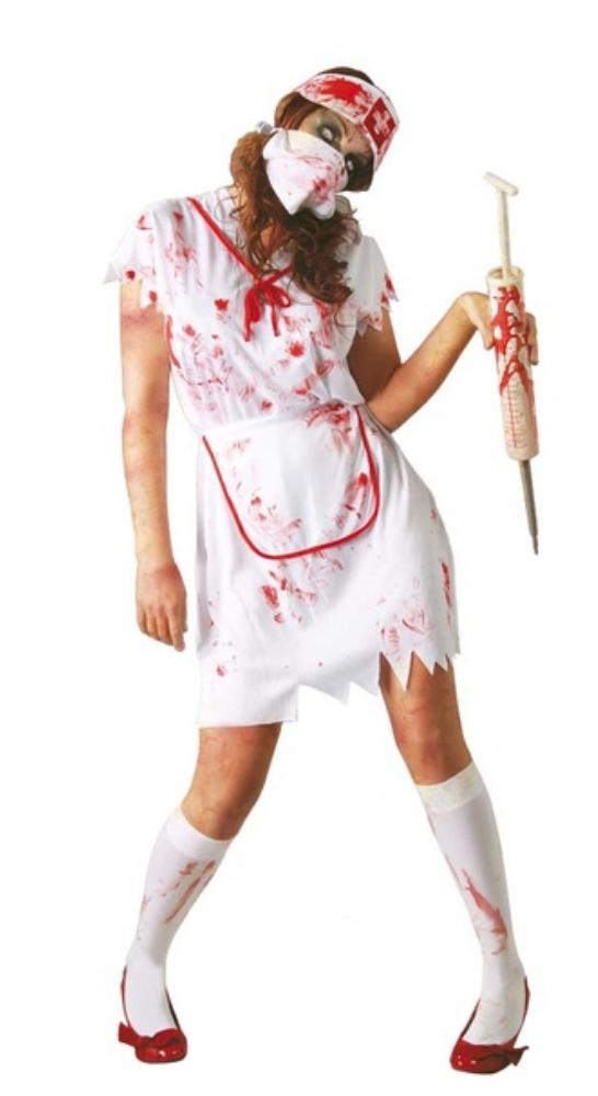 deguisement infirmiere zombie halloween femme