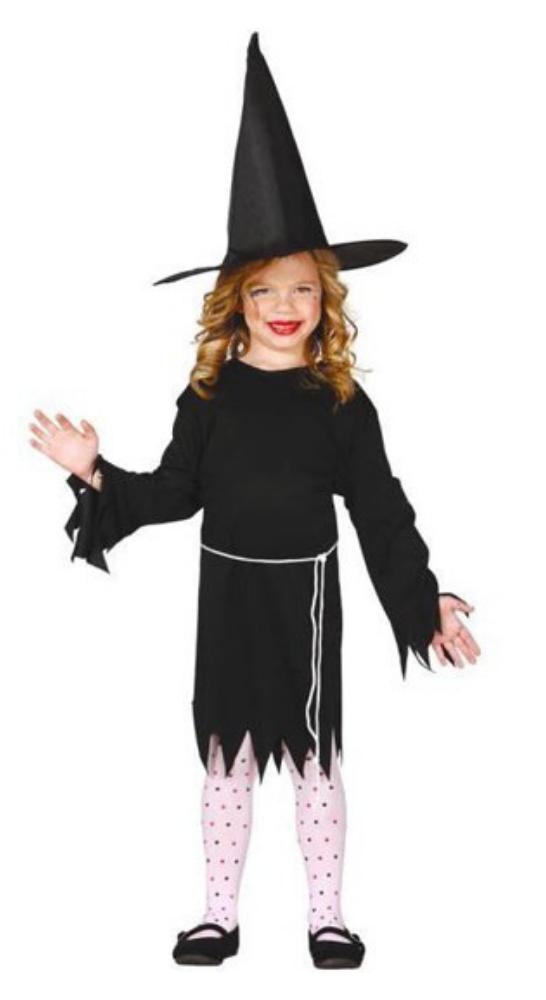 Deguisement sorciere fille halloween enfant