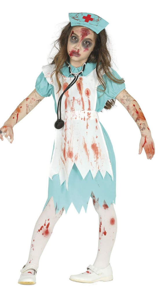 deguisement infirmirere zombie halloween