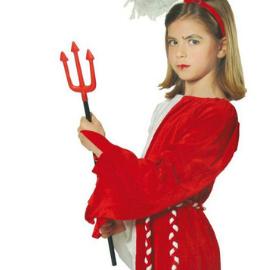 trident enfant diable rouge accessoire enfant halloween pour déguisement