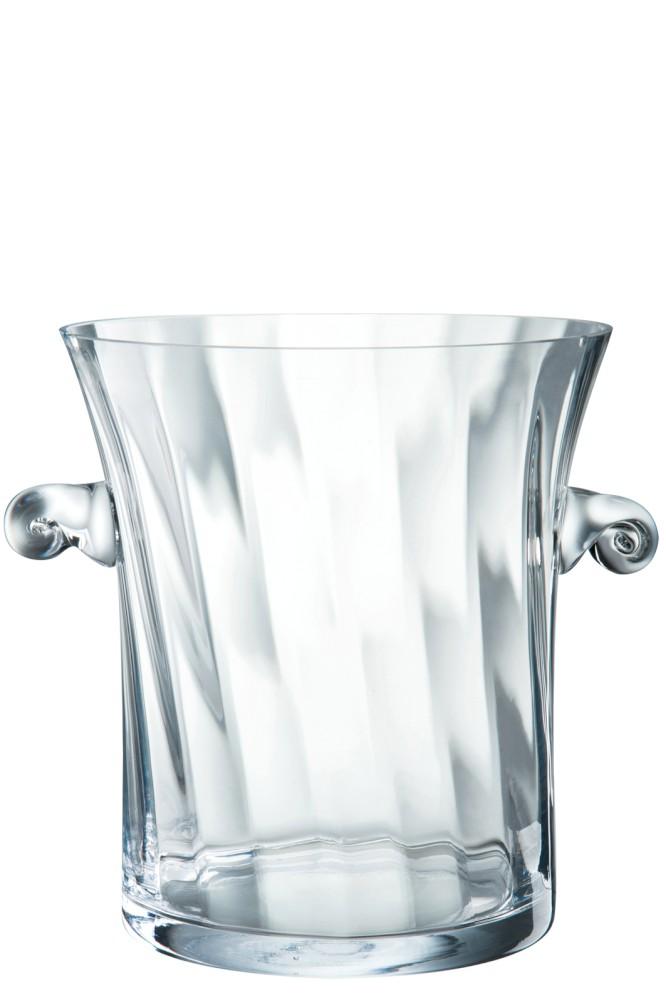 vase transparent cristal idées cadeaux deco pour noel