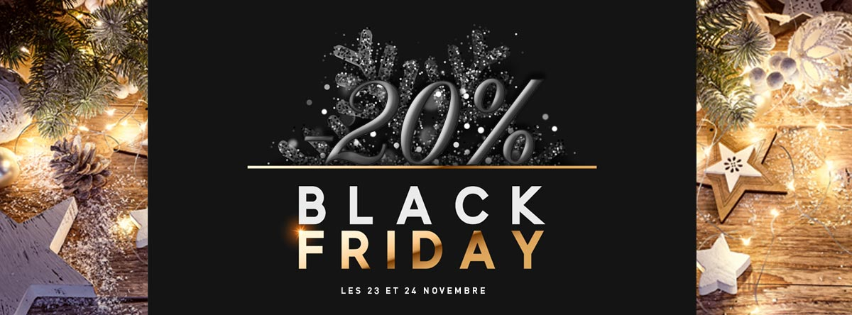 black friday 20% de remise chez Ideafete
