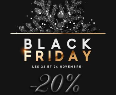 black friday boutique article de fête promotion
