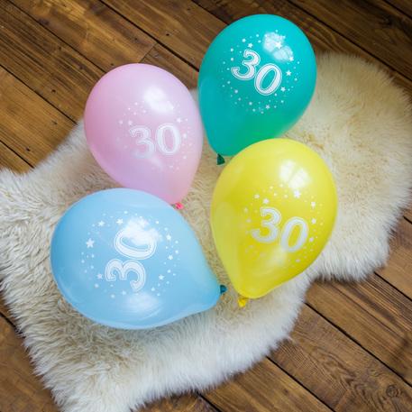 ballonhélium 30 ans anniversaire