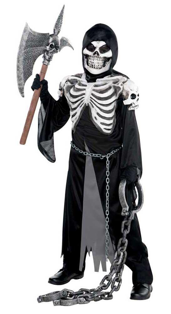 Costume squelette de la Mort