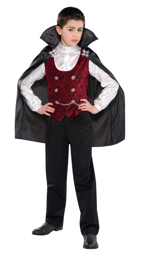 Costume vampire garcon