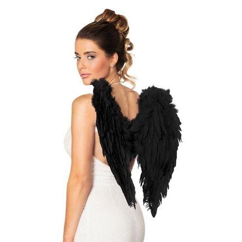 aile ange noire acessoire halloween