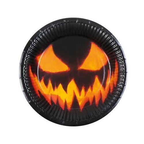 assiette noire halloween vaisselle