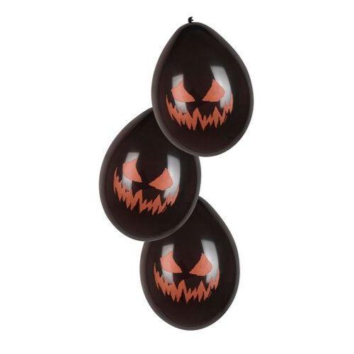 ballon noir citrouille halloween