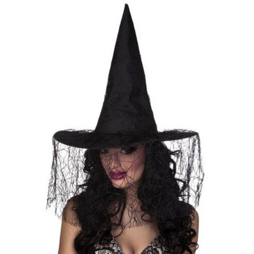 chapeau sorciere noir halloween