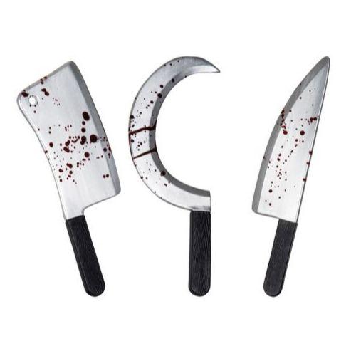 couteau hache déguisement halloween