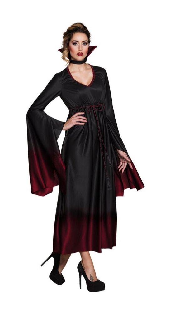 deguisement femme vampire halloween gothique