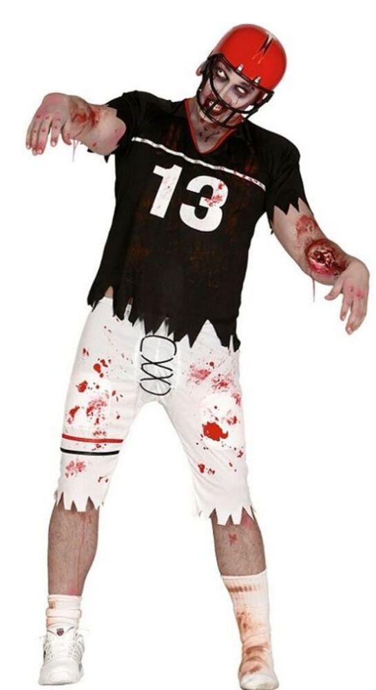 deguisement joueur baseball zombie halloween
