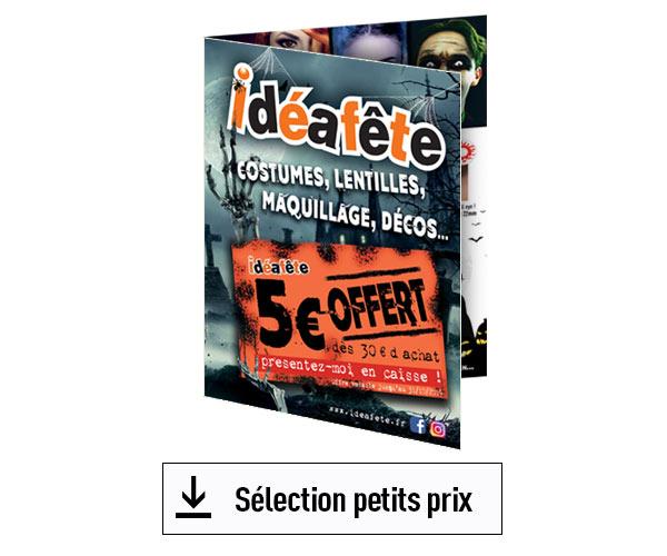 catalogue halloween petits prix