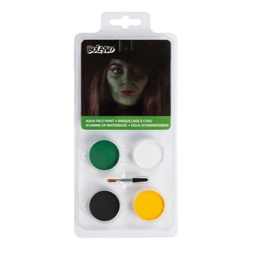 kit maquillage monstre vert halloween