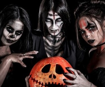 maquillage femme zombie sorciere