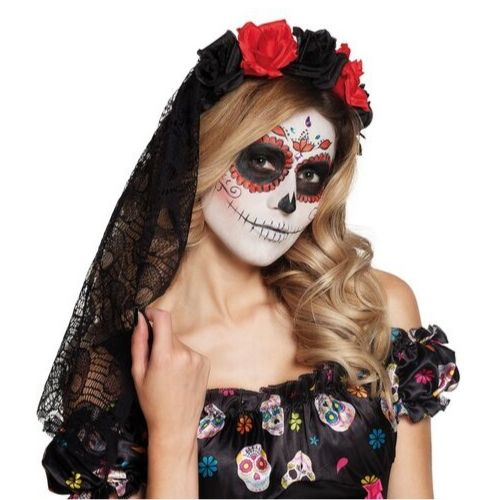 maquillage mexicain femme halloween