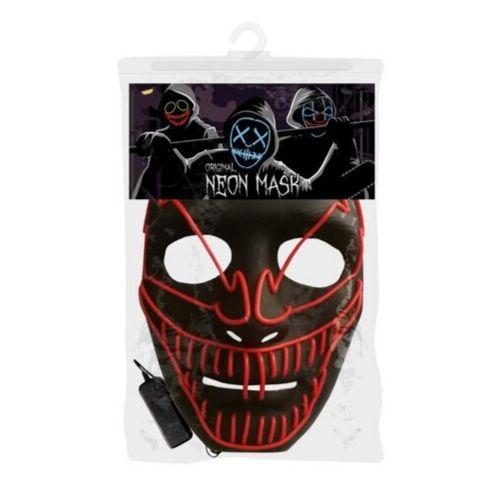 masque zombie halloween masque led lumineux
