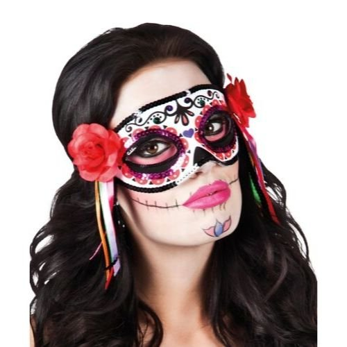 masque visage mexicain halloween