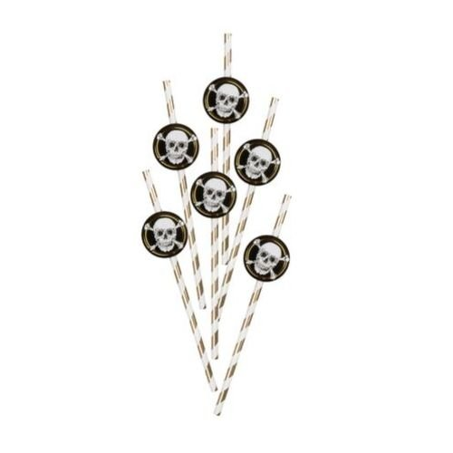 paille pirate halloween vaisselle