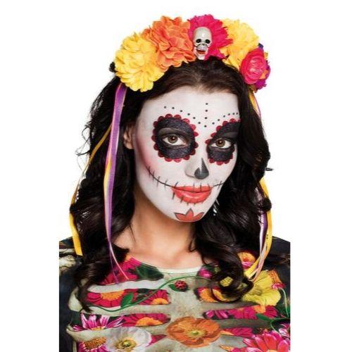 serre tete mexicain halloween