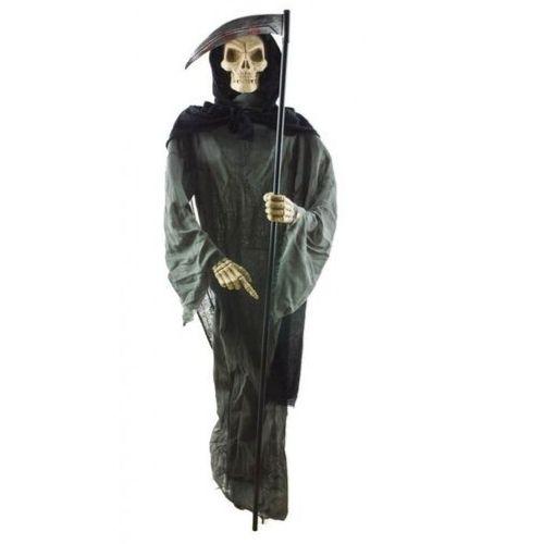 squelette zombie lumineux et en mouvement decoration halloween