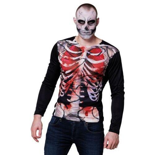 t-shirt squelette halloween