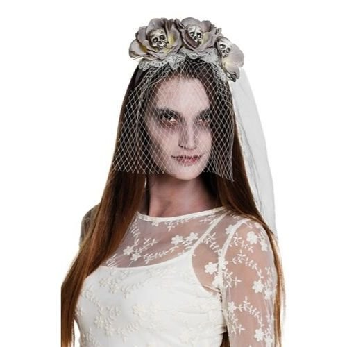 voile mariée hantée halloween