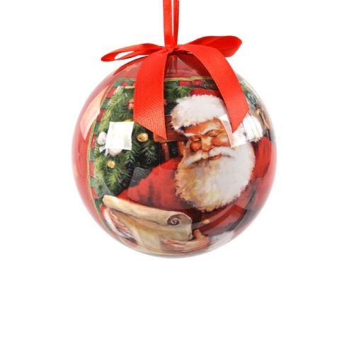 boule pere noel decoration sapin de noel